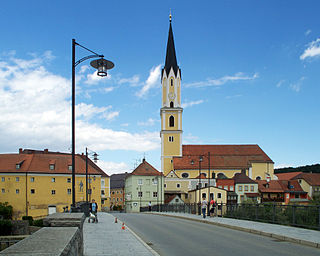 Vilshofen an der Donau Place in Bavaria, Germany