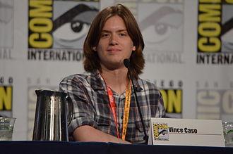 Vincent Caso - Vincent Caso at San Diego Comic Con 2012