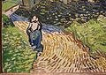Vincent Van Gogh, la chiesa di auvers-sur-oise, 1890, 04.JPG