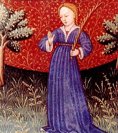 Virgo, the virgin or maiden