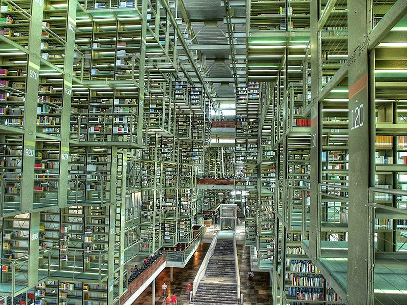 25 of the World's Coolest Libraries: José Vasconcelos Library