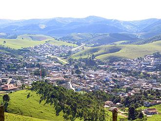 Salesópolis - Aerial view of Salesópolis