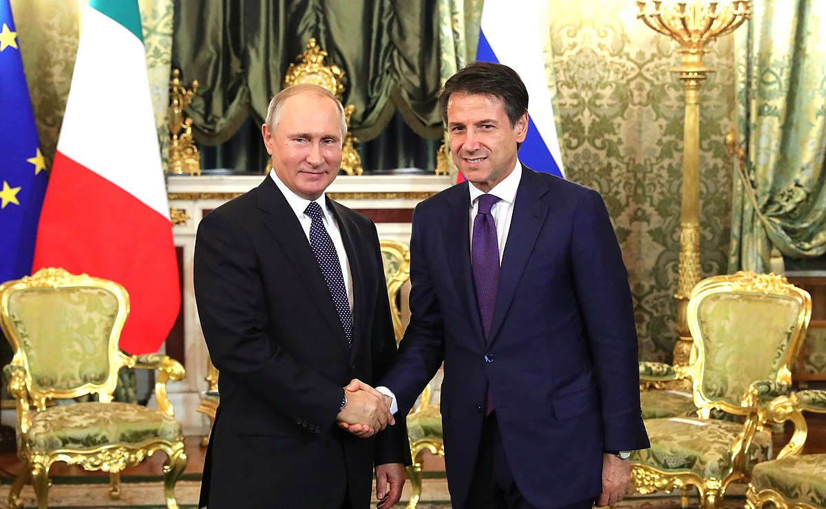 list of official trips made by giuseppe conte