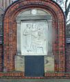 Volkmann's relief of Johann von Mikulicz-Radecki in Wroclaw, Poland 1.jpg