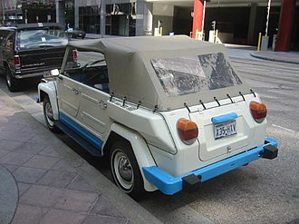"""Volkswagen 181 - A 1974 """"Acapulco"""" Thing"""
