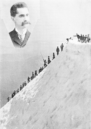 Mazamas - The founder of the Mazamas, W. G. Steel and an early climb of Mount Hood