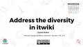 WDG - Address the diversity in itwiki.pdf