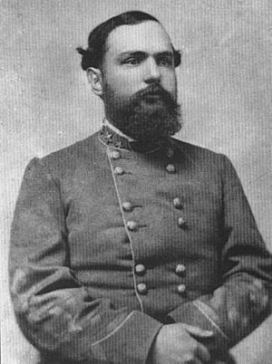 "Battle of Five Forks -  Major General W. H. F. ""Rooney"" Lee"