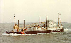 United States Coast Guard Cutter - USCG Inland Construction Tender Saginaw