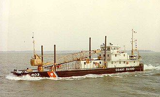 United States Coast Guard Cutter - USCG Inland Construction Tender Saginaw
