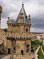 WLM14ES - Olite Palacio Real Torre de las Tres Coronas 00062 - .jpg