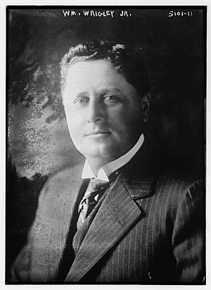 William Wrigley Jr. - Image: WM. Wrigley, Jr. LC DIG ggbain 29898