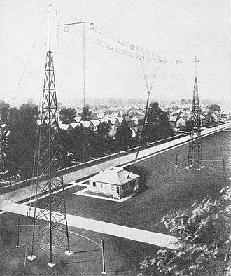 WTAM - Original WTAM transmitter site (1923)