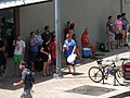 Waiting for the start of Austin TX Water Fight Flash Mob.jpg