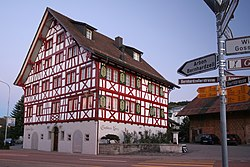 The Gasthaus Kreuz in Waldkirch