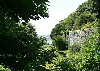 St Budeaux - The western wall of Agaton Fort