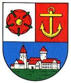 Das Wappen von Riesa