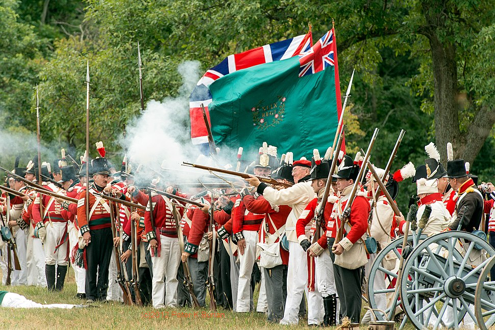 War of 1812 Re-enactment, Old Fort Erie, Ontario