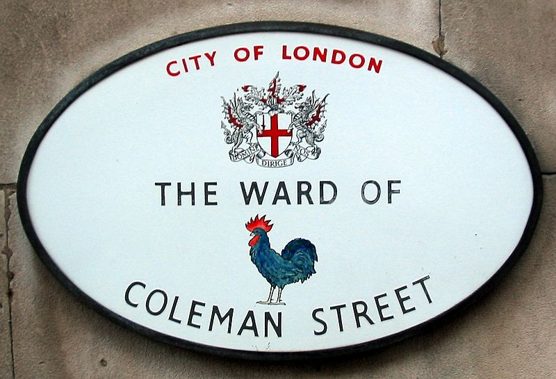File:Ward Coleman Street plaque London.jpg