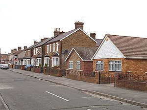 Bedfont - Image: Warfield Road, Bedfont geograph.org.uk 111999
