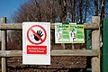 Warning notices - Hensol Forest - geograph.org.uk - 2262377.jpg