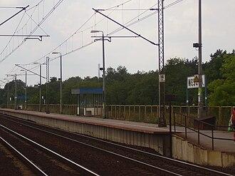 Warszawa Wesoła railway station - Image: Warszawa Wesoła train station (2)