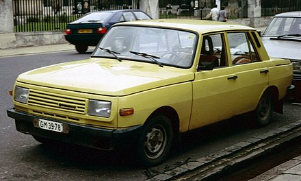 1988 Wartburg 353 Also Known As The Knight