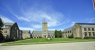 Wartburg Theological Seminary - Image: Wartburg Theological Seminary 01