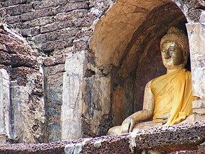 Si Satchanalai Historical Park - Wat Chang Lom, Si Satchanalai Historical Park