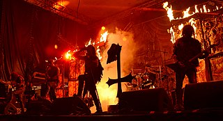 Watain Swedish black metal band