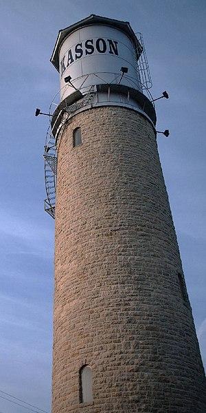 Kasson, Minnesota - Kasson Water Tower in 2006 (built: 1895)