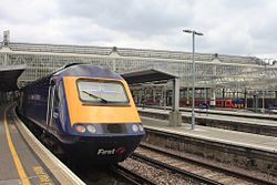 Waterloo - FGW 43021 and SWT 455870.jpg
