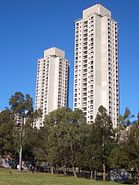 Waterloo towers 2