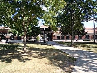 Waupaca, Wisconsin - Waupaca City Hall/Library Building