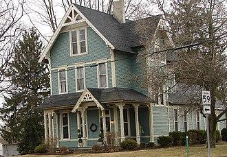 Waveland, Indiana - Victorian house in Waveland