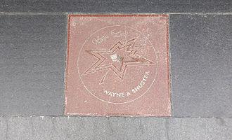Wayne and Shuster - Image: Wayne & Shuster Plate, Toronto, Canada