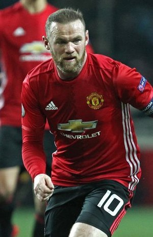 Wayne Rooney - Rooney with Manchester United in 2016