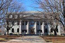 Waynesville, North Carolina - Haywood County Courthouse.JPG