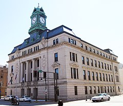 The courthouse in Fort Dodge is on the NRHP.