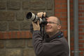 Week-end photo Wikimédia France - Cycling race in Bellou-en-Houlme - Photographer in action.jpg