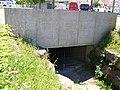 Weggentalbach, trockenes Bachbett, Dole, Eugen-Bolz-Platz, Rottenburg 01.jpg