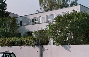 Josef Frank (architect) -  Duplex in the Weißenhofsiedlung, Stuttgart