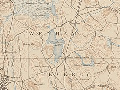 Wenham Lake - USGS Map (December 1897).jpg