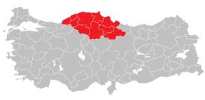 West Black Sea Region (statistical) - Image: West Black Sea Region