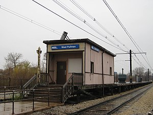 West Pullman station - Image: West Pullman Metra Station