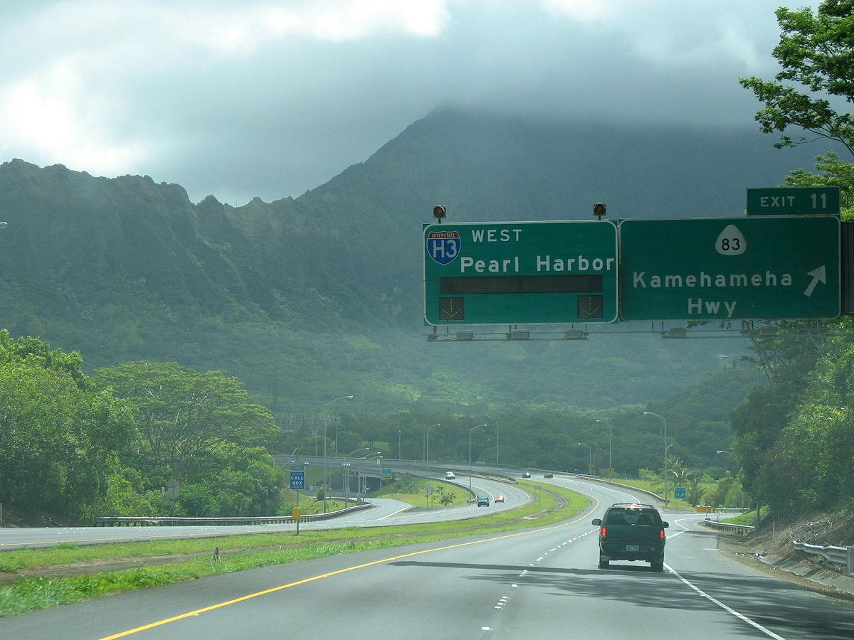 Scenic Highways Interstate H 3 Wikip 233 Dia