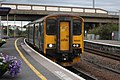 Weston-super-Mare - GWR 150233 arriving from Cardiff.JPG