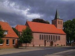 Wettrup, church