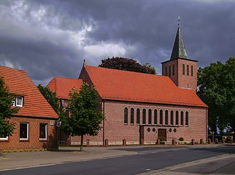 Wettrup - Wettrup, church