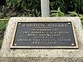 Wheaton Square plaque - Worcester, MA - DSC05789.jpg